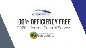 100% Deficiency Free 2020 Infection Control Survey by the North Carolina Department of Health and Human Services