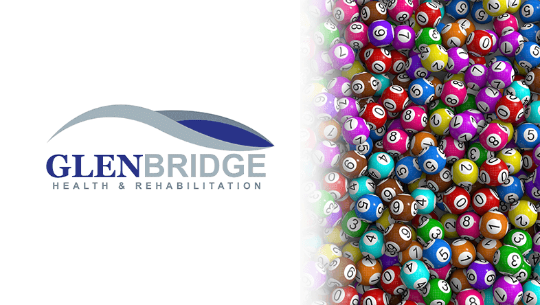 Glenbridge Logo and Bingo Balls